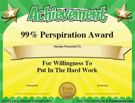 silly certificates awards templates 19 best awards images on