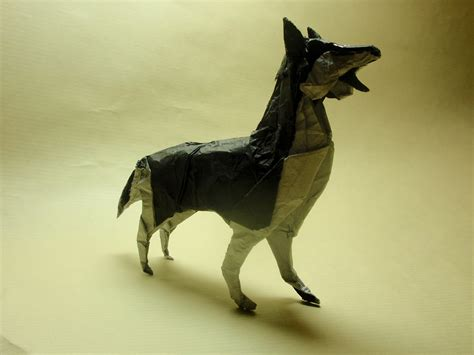 Origami Husky - 22 excellent origami models for