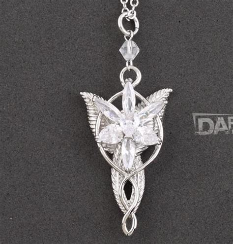 lord of the rings arwen arwen s evenstar silver pendant