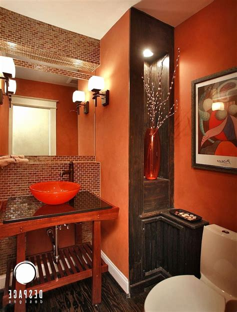 orange and brown bathroom sets orange bathroom decor best of fabulous brown and or on