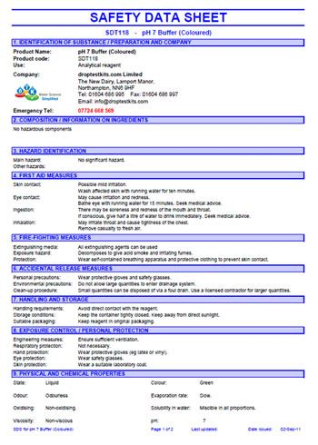 Safety Data Sheet Template by Sds Template Playbestonlinegames