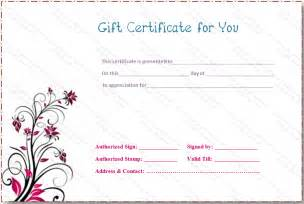 fillable gift certificate template free gift certificate template free fill in myideasbedroom