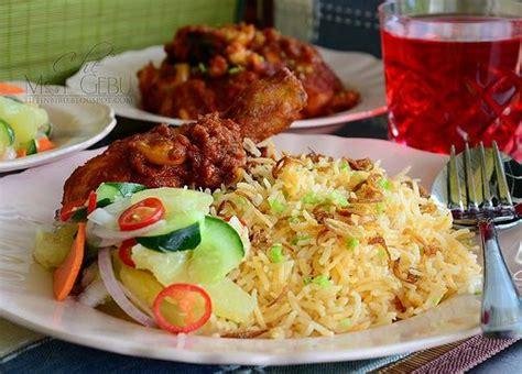 resepi nasi tomato  tiffin biru blogger tiffin biru