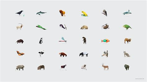 Small Animals Type C in pieces 30 endangered species 30 pieces