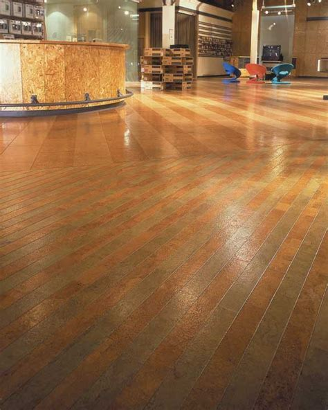 Cork Flooring Installation Photos   Audio Center