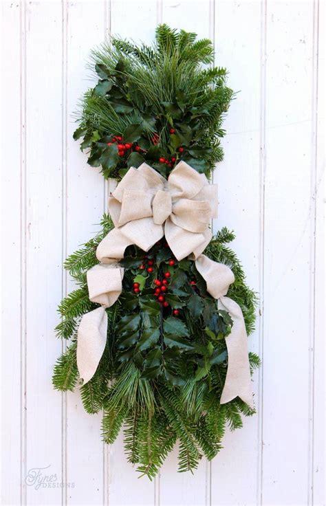 christmas swag wreath christmas swags