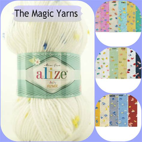 Termurah Jegging Baby Soft Y Limited alize baby flower special baby yarn soft