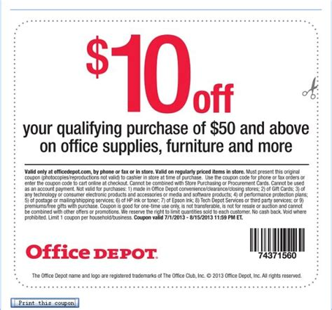 office depot coupons survey office depot customer feedback survey www officedepot