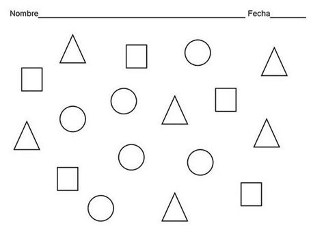 figuras geometricas de colores dibujos para colorear de figuras geometricas para