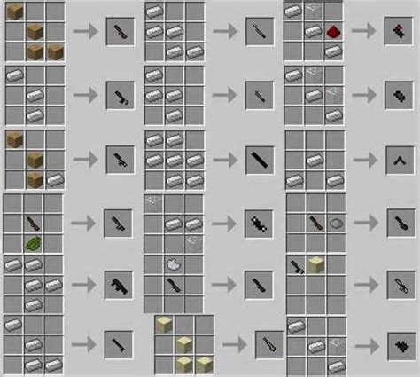 Furniture Mod Recipes by Furniture Mod Minecraft 13 Mrcrayfish Furniture Mod