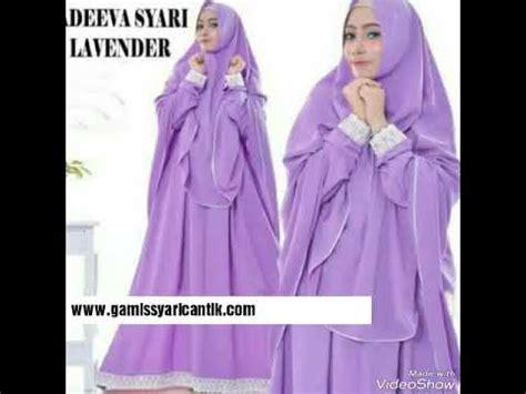 Baju Syari Vi model baju gamis syar i untuk ibu menyusui 081213381472
