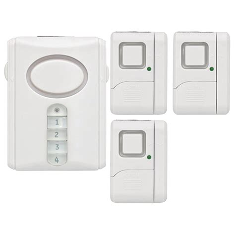 ge personal security alarm kit review home security