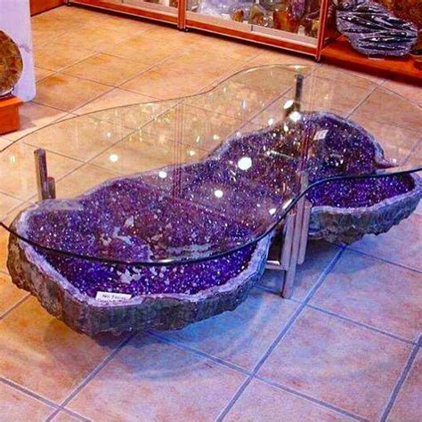 amethyst geode coffee table 22 best images about galaxy everything on