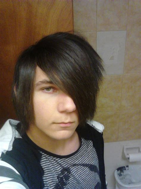 emo haircuts cause lazy eye scene emo hair for guys by lmdaboss on deviantart