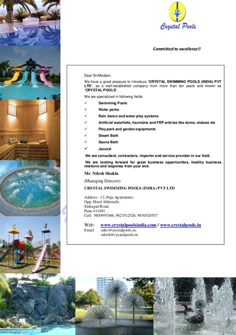 Introduction Letter For Hotel Marketing Introduction Letter