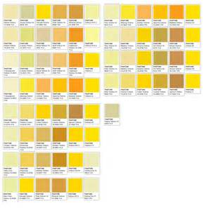Color Palette For Website yellows october sky