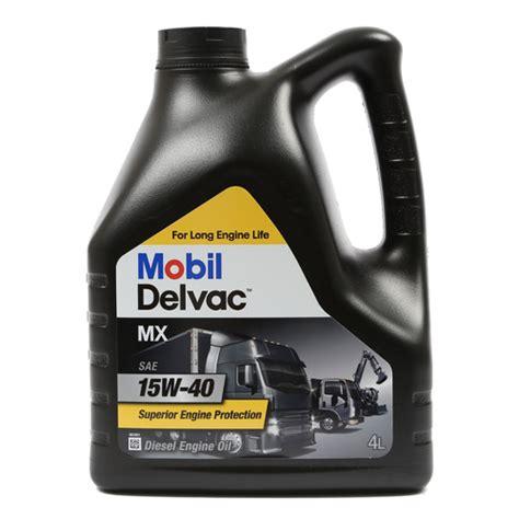 Oli Mobil 1 Delvac Mx Sae 15w 40 mobil delvac mx 15w 40 4l motonet oy