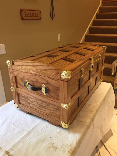 beautiful rockler customer trunk project diy trunk