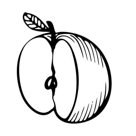 apple coloring pages for toddlers free apple printable coloring pages
