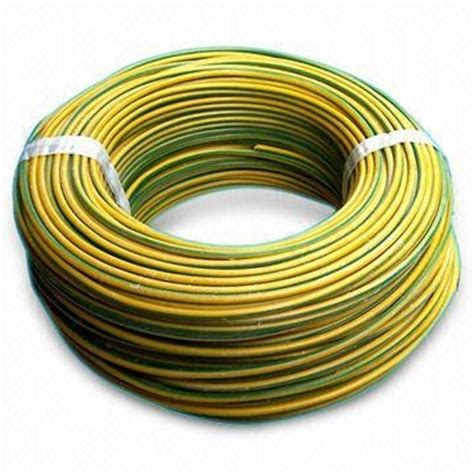 28 yellow and green electrical wire cable ground