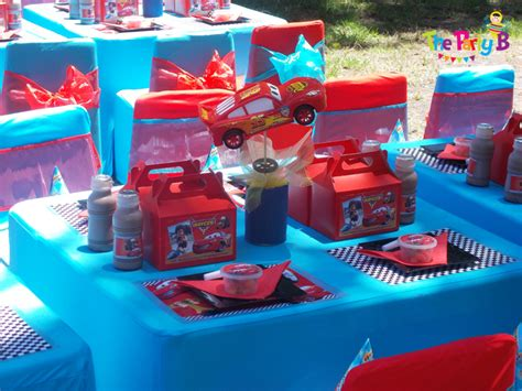 Home Decor Set by Cars Themed Party Cape Town The Party B Kids Party Set