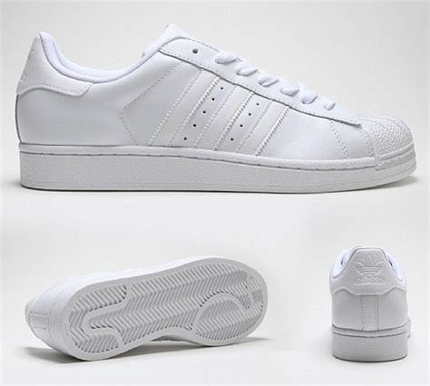 Adidas Superstar All White superstar ii trainer all white bambas
