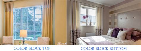 color block drapes custom color block curtains drapes panels