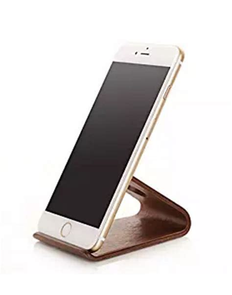 iphone 6 desk stand hotor anti radiation bamboo wood desk stand for iphone 6 6