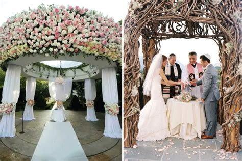 Wedding Ceremony Arbor by Wedding Ceremony Decor Altars Canopies Arbors Arches