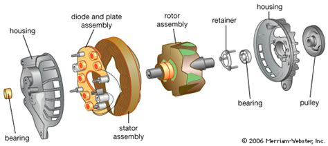 diode inside alternator alternators wick s site