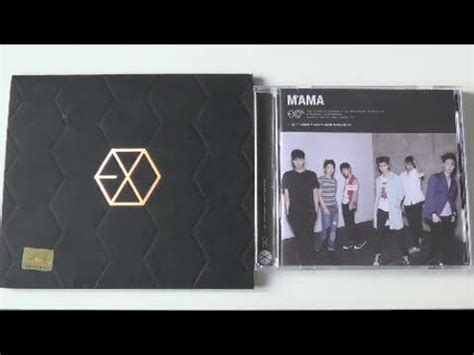download mp3 exo album mama unboxing exo m 1st mini album mama korea china edition