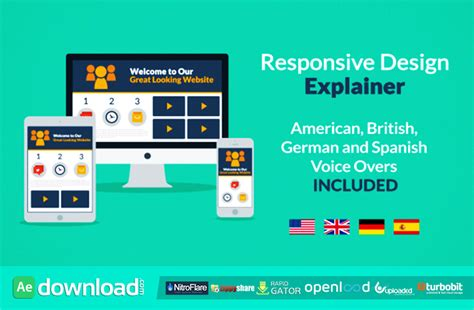 responsive layout free download responsive design explainer free download videohive