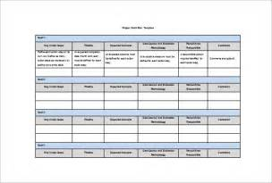Work Plan Template by Work Plan Template 8 Free Word Pdf Documents