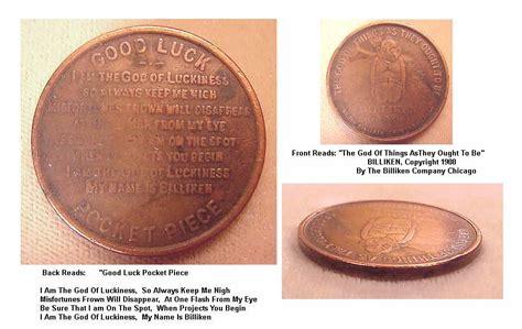 billiken company chicago vintage 1908 billiken company chicago luck pocket