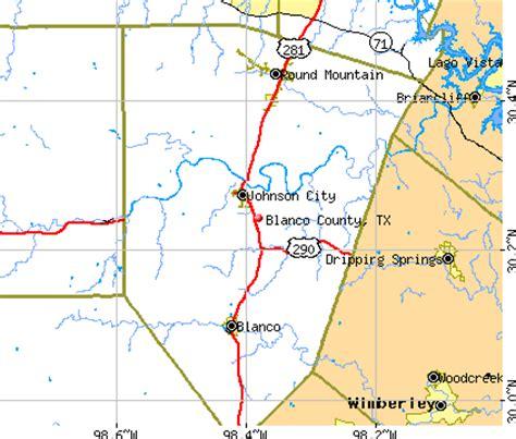 blanco texas map blanco texas map