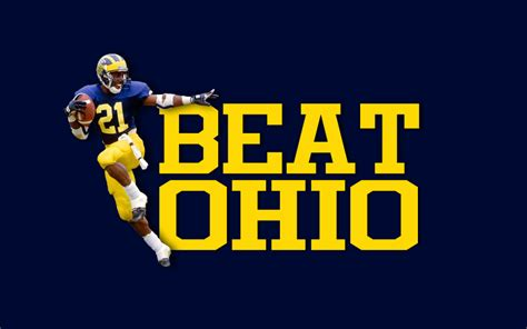 mi themes wallpaper celebrate the game with ohio state michigan wallpapers
