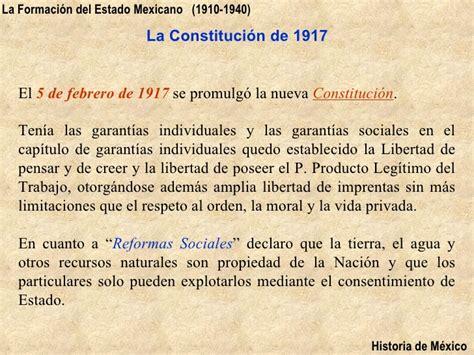 antecedentes del articulo5 historia de mexico