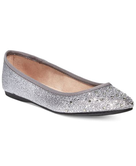 style co shoes flats style co angelynn flats in metallic lyst