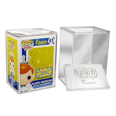 Funko Pop Protector pop stacks vinyl interlocking premium plastic protector funko pop vinyl display cases at