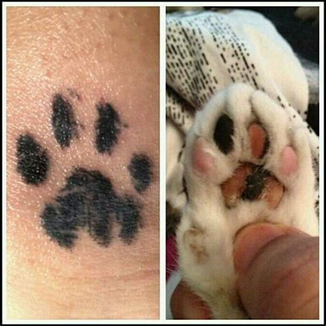 where should i get my tattoo my i used an inkpad to get my cats pawprint