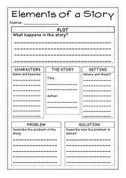 finding the theme of a story worksheets resultinfos freebie story elements graphic organizer reading in