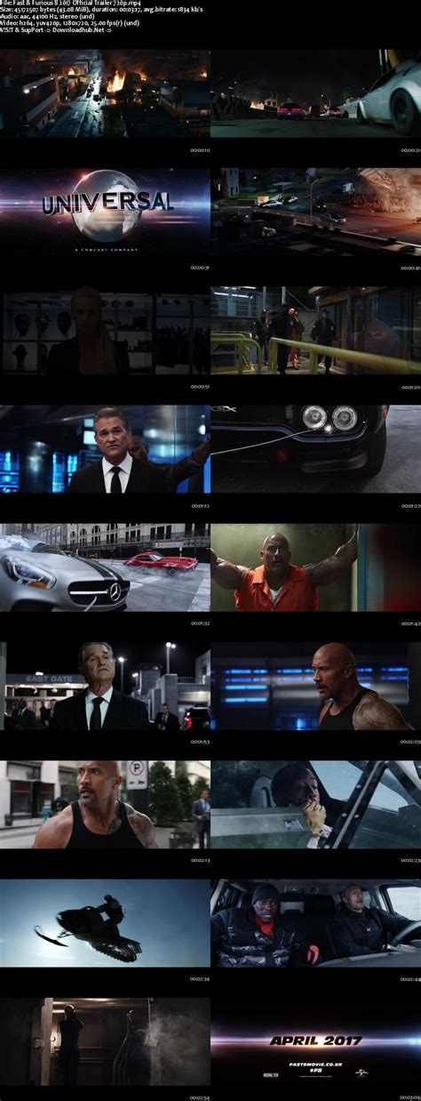 fast and furious 8 official trailer download fast furious 8 2017 english hd official trailer 720p