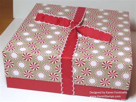 Gift Box Handmade - handmade gift box sting