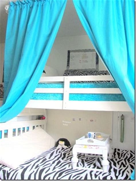 loft bed curtains how to make curtains over bunk bed for the home pinterest
