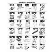 Silabas Trabadas Para Imprimir Y Colorear Gratis