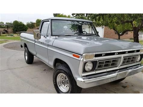 1976 Ford Truck For Sale 1976 Ford F150 For Sale Classiccars Cc 608852
