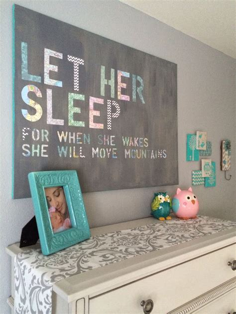 Nursery Diy Decor Diy Baby Room Decorations Diy Do It Your Self