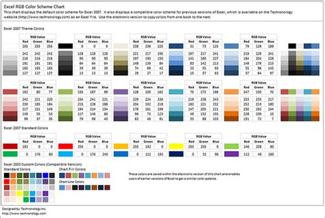 color themes in excel excel compatible color scheme flickr photo sharing