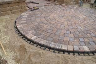 Circular Patio Pavers 30 Stupendous Paver Patio Designs Slodive Pits Paver Patio Designs
