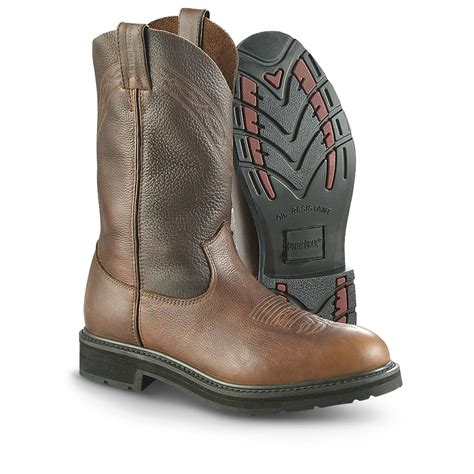 pull on work boots guide gear pull on work boots 607620 work boots at